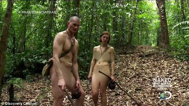 Naked and afraid bear boobs, chubby asses nude